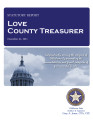 LANGDON SPIVEY, COUNTY TREASURER LOVE COUNTY, OKLAHOMA TREASURER STATUTORY REPORT DECEMBER 31, 2011
