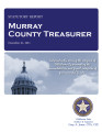 JUDY WELLS, COUNTY TREASURER MURRAY COUNTY, OKLAHOMA TREASURER STATUTORY REPORT DECEMBER 31, 2011
