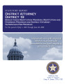 EMILY REDMAN, DISTRICT ATTORNEY DISTRICT 19 STATUTORY REPORT BOGUS CHECK RESTITUTION PROGRAM...