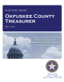 JUDY RENEE ALCORN, COUNTY TREASURER OKFUSKEE COUNTY, OKLAHOMA TREASURER STATUTORY REPORT MAY 14,...