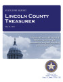 KATHY SHERMAN, COUNTY TREASURER LINCOLN COUNTY, OKLAHOMA TREASURER STATUTORY REPORT MAY 21, 2012