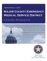 MAJOR COUNTY EMERGENCY MEDICAL SERVICE DISTRICT OPERATIONAL AUDIT FOR THE PERIOD JULY 1, 2008...