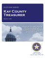 CHRISTY KENNEDY, COUNTY TREASURER KAY COUNTY, OKLAHOMA TREASURER STATUTORY REPORT MARCH 27, 2012