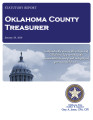 "FORREST ""BUTCH"" FREEMAN, COUNTY TREASURER OKLAHOMA COUNTY, OKLAHOMA TREASURER STATUTORY REPORT JANUARY 29, 2016"