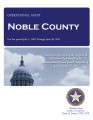 NOBLE COUNTY OPERATIONAL AUDIT FOR THE PERIOD JULY 1, 2007 THROUGH JUNE 30, 2011
