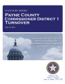 COUNTY OFFICER TURNOVER STATUTORY REPORT BILL DEERING PAYNE COUNTY COMMISSIONER DISTRICT 1 MAY 16,...