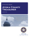 RICHARD LILLARD, COUNTY TREASURER ATOKA COUNTY, OKLAHOMA TREASURER STATUTORY REPORT APRIL 30, 2012