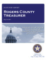CATHY BAKER, COUNTY TREASURER ROGERS COUNTY, OKLAHOMA TREASURER STATUTORY REPORT MAY 18, 2012