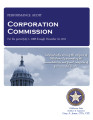 Audit Report of the Corporation Commission For the Period July 1, 2008 through December 31, 2011
