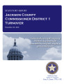 County officer turnover statutory report, Jackson County Commissioner District 1.