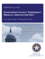 KINGFISHER COUNTY EMERGENCY MEDICAL SERVICE DISTRICT OPERATIONAL AUDIT FOR THE PERIOD NOVEMBER 1,...