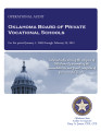 Audit Report of the Oklahoma Board of Private Vocational Schools For the Period January 1, 2009 to...