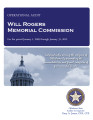 Audit Report of the Will Rogers Memorial Commission For the Period January 1, 2009 through January...