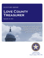 County treasurer, Love County, Oklahoma, treasurer statutory report.