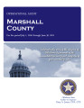 MARSHALL COUNTY OPERATIONAL AUDIT FOR THE PERIOD JULY 1, 2010 THROUGH JUNE 30, 2011