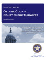 County officer turnover statutory report, Ottawa County Court clerk.