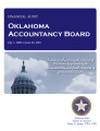 Oklahoma Accountancy Board, financial statement and independent auditor's report.