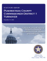 County officer turnover statutory report, Pushmataha County Commissioner District 1.