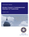 COUNTY OFFICER TURNOVER STATUTORY REPORT DEE MAX CORBIN KIOWA COUNTY COMMISSIONER DISTRICT 2...