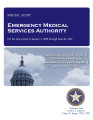EMERGENCY MEDICAL SERVICES AUTHORITY SPECIAL AUDIT REPORT JANUARY 1, 2009 THROUGH JUNE 30, 2012