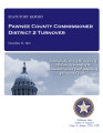 COUNTY OFFICER TURNOVER STATUTORY REPORT JAMES ADAMS PAWNEE COUNTY COMMISSIONER DISTRICT 2...