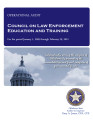 Audit Report of the Council on Law Enforcement Education and Training For the Period January 1,...