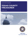 RITA WISE, COUNTY TREASURER TEXAS COUNTY, OKLAHOMA TREASURER STATUTORY REPORT NOVEMBER 7, 2012