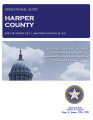 HARPER COUNTY OPERATIONAL AUDIT FOR THE PERIOD JULY 1, 2009 THROUGH JUNE 30, 2012