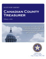 CAROLYN M. LECK, COUNTY TREASURER CANADIAN COUNTY, OKLAHOMA TREASURER STATUTORY REPORT FEBRUARY 4,...
