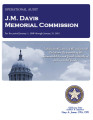 Audit Report of the J.M. Davis Memorial Commission For the Period January 1, 2008 through January...