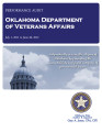 Audit Report of the Department of Veterans Affairs For the Period July 1, 2011 through June 30,...