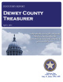 CINDY FARRIS, COUNTY TREASURER DEWEY COUNTY, OKLAHOMA TREASURER STATUTORY REPORT APRIL 1, 2013