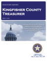 KAREN MUEGGENBORG, COUNTY TREASURER KINGFISHER COUNTY, OKLAHOMA TREASURER STATUTORY REPORT MARCH...