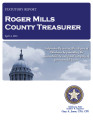 BAB COKER, COUNTY TREASURER ROGER MILLS COUNTY, OKLAHOMA TREASURER STATUTORY REPORT APRIL 4, 2013