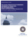 Audit Report of the Oklahoma Aeronautics Commission University of Oklahoma Max Westheimer Airport...