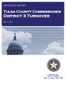 COUNTY OFFICER TURNOVER STATUTORY REPORT FRED PERRY TULSA COUNTY COMMISSIONER DISTRICT 3 JULY 2,...
