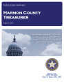 ROBBIE GEE, COUNTY TREASURER HARMON COUNTY, OKLAHOMA TREASURER STATUTORY REPORT AUGUST 5, 2013