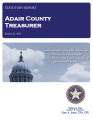 JANICE BREWER, COUNTY TREASURER ADAIR COUNTY, OKLAHOMA TREASURER STATUTORY REPORT JANUARY 31, 2013
