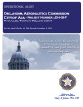 Audit Report of the Oklahoma Aeronautics Commission City of Ada - Project Number ADH-08-F Parallel...