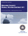 BEAVER COUNTY RURAL WATER DISTRICT #1 CONSULTING REPORT OCTOBER 1, 2006 THROUGH FEBRUARY 28, 2013