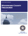 SONYA COLEMAN, COUNTY TREASURER WOODWARD COUNTY, OKLAHOMA TREASURER STATUTORY REPORT FEBRUARY 14,...