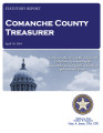 COUNTY OFFICER TURNOVER STATUTORY REPORT BARBARA BURK COMANCHE COUNTY TREASURER APRIL 10, 2014