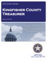 KAREN MUEGGENBORG, COUNTY TREASURER KINGFISHER COUNTY, OKLAHOMA TREASURER STATUTORY REPORT...