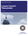 SHERRI LONGNECKER, COUNTY TREASURER LOGAN COUNTY, OKLAHOMA TREASURER STATUTORY REPORT MAY 14, 2014