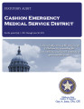 CASHION EMERGENCY MEDICAL SERVICE DISTRICT STATUTORY REPORT FOR THE PERIOD JULY 1, 2011 THROUGH...