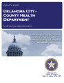 OKLAHOMA CITY-COUNTY HEALTH DEPARTMENT FINANCIAL STATEMENT – CASH BASIS AND INDEPENDENT AUDITOR'S...