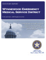 WYNNEWOOD EMERGENCY MEDICAL SERVICE DISTRICT STATUTORY REPORT FOR THE PERIOD JULY 1, 2009 THROUGH...