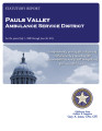 PAULS VALLEY AMBULANCE SERVICE DISTRICT  STATUTORY REPORT  FOR THE PERIOD JULY 1, 2008 THROUGH...