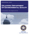 Audit Report of the Oklahoma Department of Environmental Quality For the Period July 1, 2011...