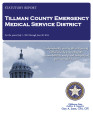 TILLMAN COUNTY EMERGENCY MEDICAL SERVICE DISTRICT STATUTORY REPORT FOR THE PERIOD JULY 1, 2012...